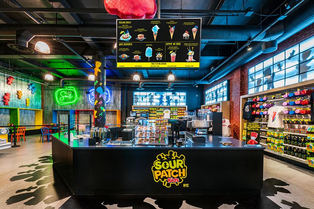 Jelibon Sour Patch Kids'dən İlk Konsept Mağazası.